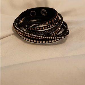 Genuine Swarovski Crystal wrap bracelet